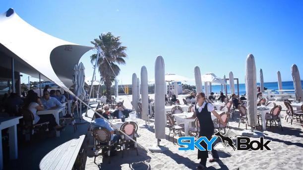 The Grand Beach Cafe Skybok Video Profiling South Africa