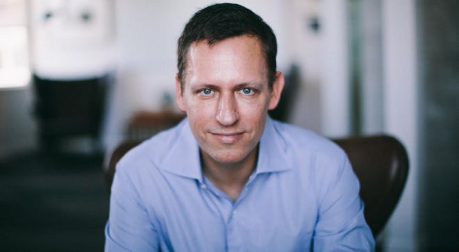 Author Peter Thiel