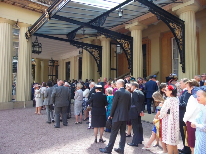 Royal Investiture at Buckhingham Palace